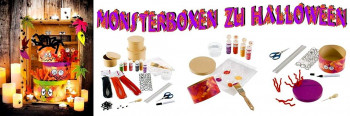 Monsterboxen zu Halloween