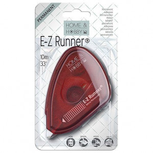 Home & Hobby by 3L, E-Z Runner® permanent, 9 mm x 10 m